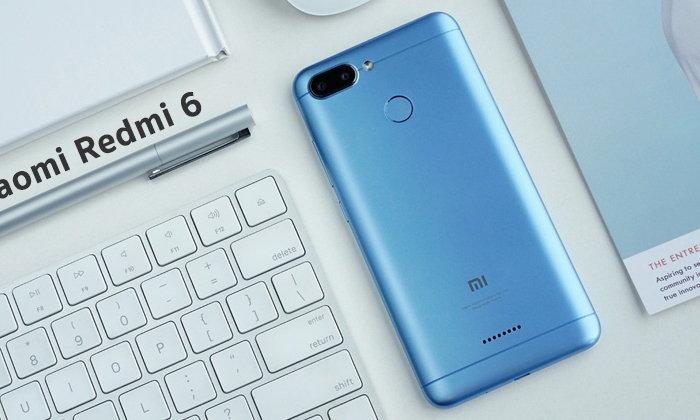 เปิดตัว Xiaomi Redmi 6 และ Redmi 6A มาพร้อมกล้องคู่ระบบ AI ในราคาสบายกระเป๋า เริ่มต้นที่ 3,000 บาท