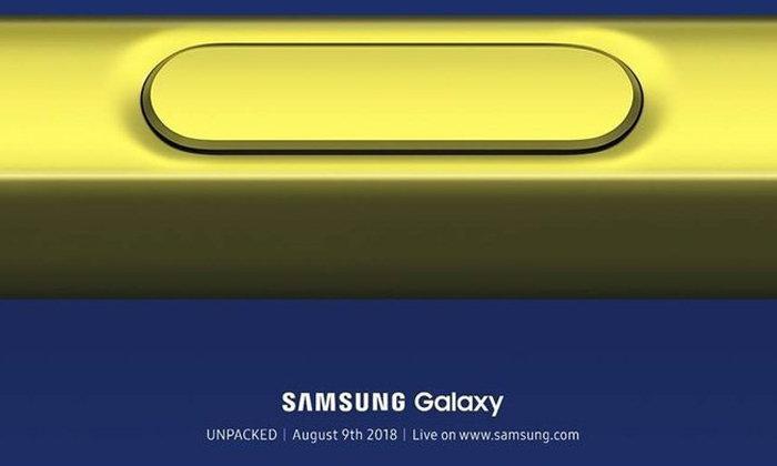 """มาแล้ว Teaser แรกของ """"Samsung Galaxy Note 9"""" เผยถึงสีสันใหม่ของ S Pen"""