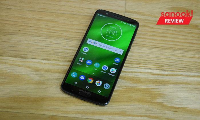 """รีวิว """"Motorola G6 Plus"""" ต้นตำรับ Pure Android ที่จอใหญ่ราคาไม่ถึงหมื่น"""