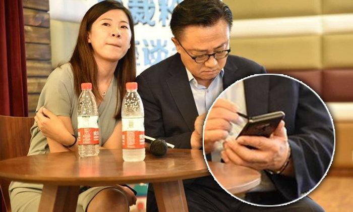 """หลุดเครื่องจริง """"Samsung Galaxy Note 9"""" คามือ CEO ซัมซุง เรียกว่าหลุดไม่ต้องลุ้นแล้ว"""