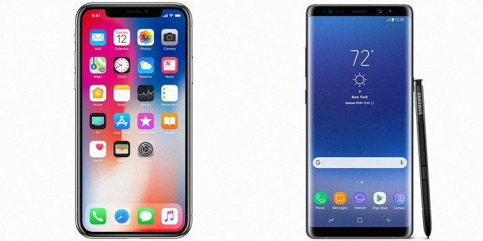 "PCMag เผยผลสำรวจ : ผู้ใช้ ""สนใจ"" สมาร์ทโฟนของ Apple มากกว่า Samsung"