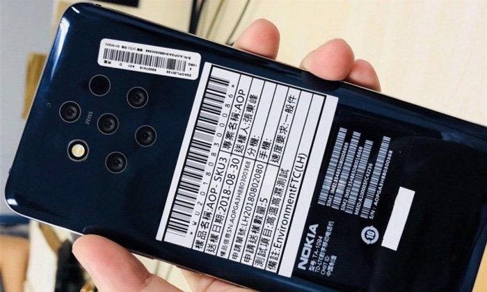 ภาพหลุด Nokia 9 พร้อมกล้องหลัง 5 ตัว