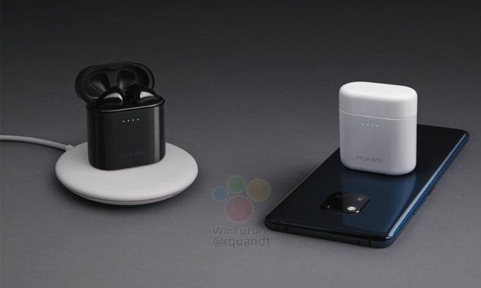 """มาแล้ว ภาพแรกของ """"Huawei FreeBuds 2 Pro"""" หูฟังไร้สเปคหนัก ที่พร้อมแข่งกับ """"AirPods"""""""