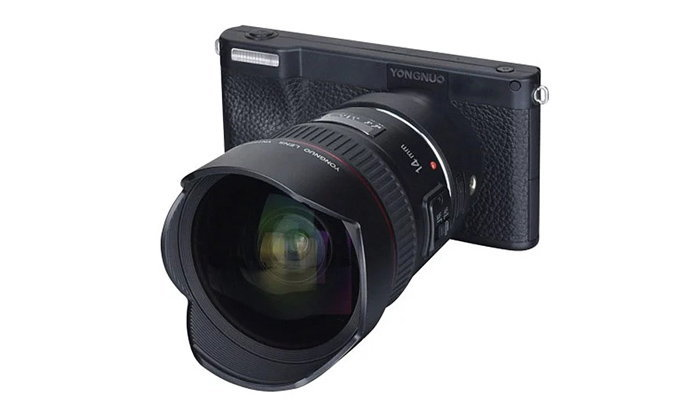 "Yongnuo เปิดตัวกล้อง ""YN450"" Mirrorless ระบบ Android รองรับการเปลี่ยนเลนส์ได้"