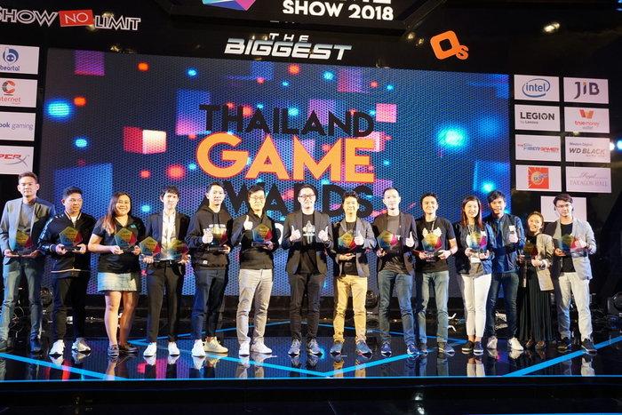 ถูกใจวัยรุ่นตรึม! กับผลรางวัล Thailand Game Awards 2018 ในงาน TGS 2018!