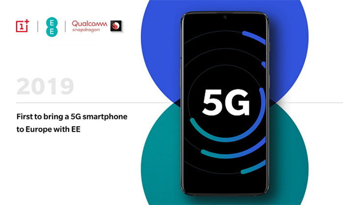 """OnePlus"" ยืนยันเรือธงรุ่นถัดไปจะเป็นมือถือตัวแรกที่ใช้ ""Snapdragon 855"" พร้อมกับรองรับ 5G ในยุโรป"