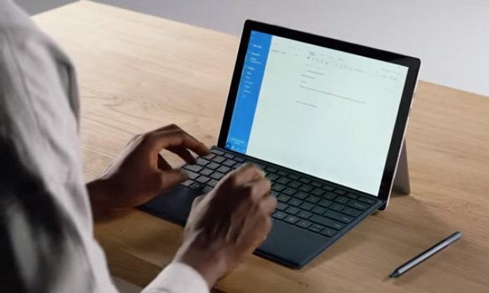 """""""Microsoft Surface Pro 7"""" อาจจะมี Keyboard ที่บางลงกว่าเดิม"""