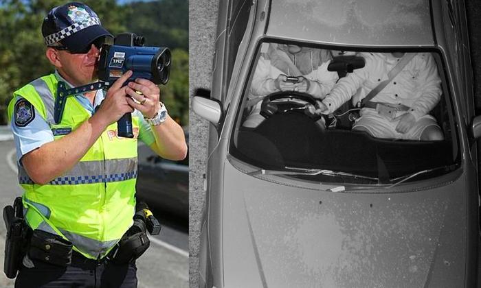 ขาแชทมีหนาว! ตำรวจออสเตรเลีย ทดลองใช้กล้องตรวจจับคนเล่นมือถือขณะขับรถ เป็นครั้งแรกของโลก