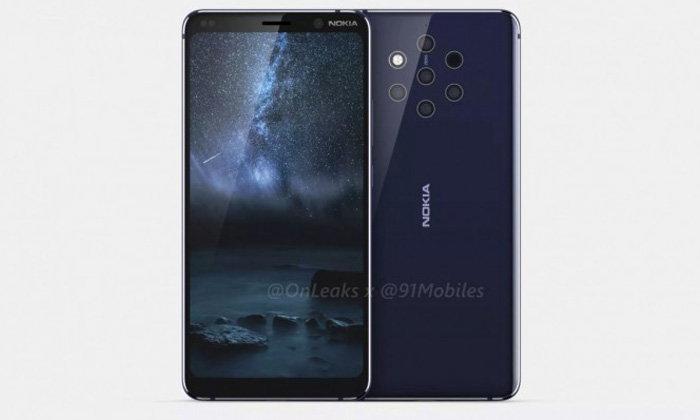 """เผยภาพเคสของ """"Nokia 9 PureView"""" มือถือ 5 กล้อง กับเคสหนังแท้"""