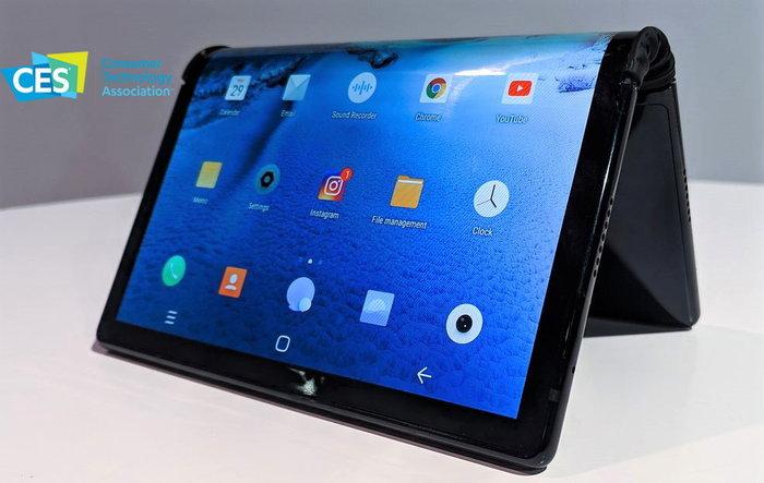 """[CES 2019] Royole โชว์ """"FlexPai"""" สมาร์ทโฟนจอพับได้เครื่องแรกของโลก ได้อย่างน่าประทับใจ (อีกครั้ง)"""