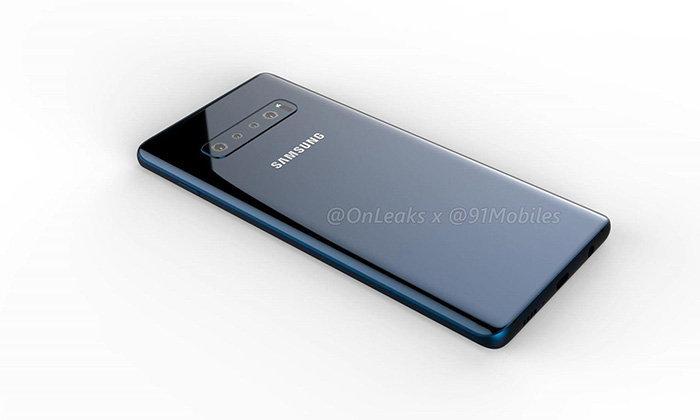 """หลุดอีกครั้งกับ """"Samsung Galaxy S10+"""" จะมาพร้อมกับกล้องหน้าคู่"""