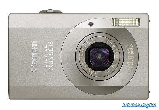 Canon IXUS 90 IS (Silver)