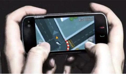โนเกียแจกฟรีเกมส์แข่งรถบนโอวี่แมพ