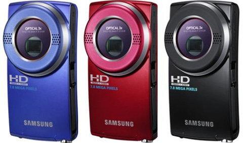 """ซัมซุงออก""""กล้องวิดีโอพกพา""""ซูม 3 เท่า"""