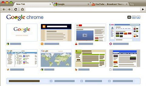 Google Chrome สำหรับแม็ค(รุ่นทดสอบ)