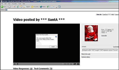 ซานต้าให้ไวรัสเป็นของขวัญผู้ใช้เฟซบุ๊ก?