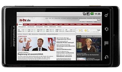 Motorola Milestone - สุดยอดสมาร์ทโฟนแอนดรอยด์ ที่ทุกคนต้องรู้จัก !!