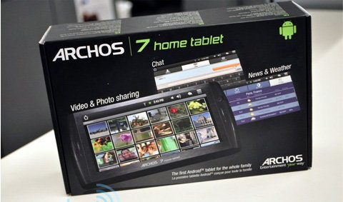 อีกทางเลือก คนชอบ iPad กับ Archos 7 ราคา 9 พันบาท