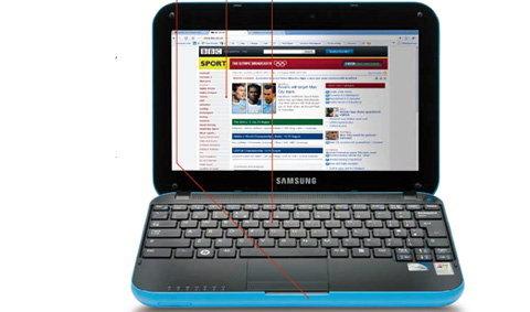 พีวิว SAMSUNG N310 สุดยอดดีไซน์