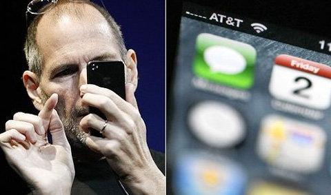 "iPhone 4 โชว์""แท่งสัญญาณ""ผิด?"