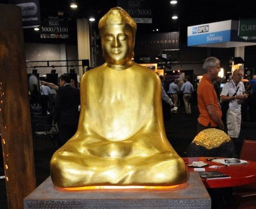 ชาวพุทธโวยฝรั่งผลิตลำโพงโมเดลพระพุทธรูปทองคำ!