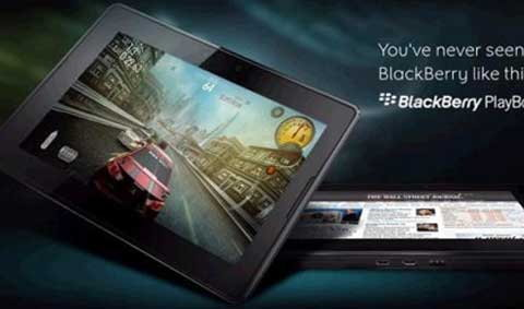 BlackBerry PlayBook แท็บเล็ตขั้นเทพ