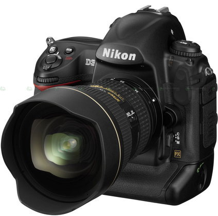 สัมผัสแรกกับ NIKON D3 กล้องในฝัน