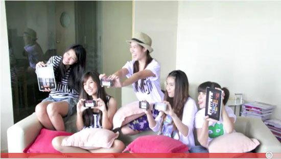 เผยโฉม 5 สาวไทย iOS Girl Band!