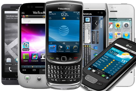 10 อันดับ Mobile Phone ดาวเด่นของปี 2010