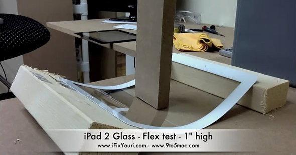 ผลการทดสอบกระจกหน้าจอของ iPad 2 เผยให้เห็นถึงความอึดมหาอึด!