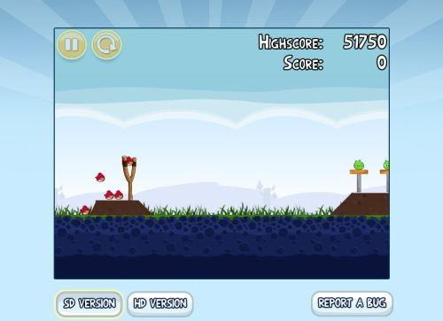 Angry Birds เปิดให้ลองเล่นบนเว็บฟรี