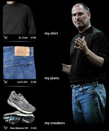 อยากรู้ไหม สตีฟ จ๊อบ ใส่เสื้อผ้าราคาเท่าไร