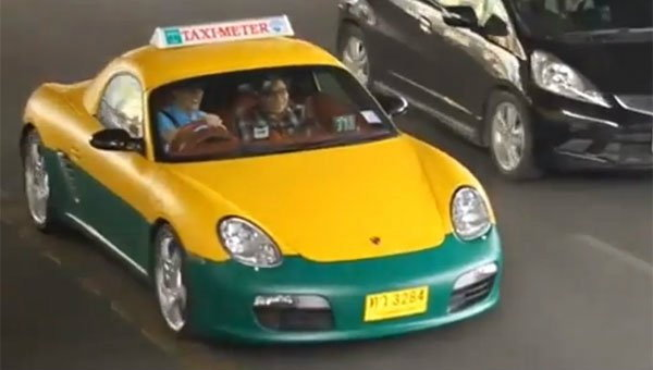 Taxi Porsche หรือจะสู้ Taxi ว่าง แต่ไม่รับคน...