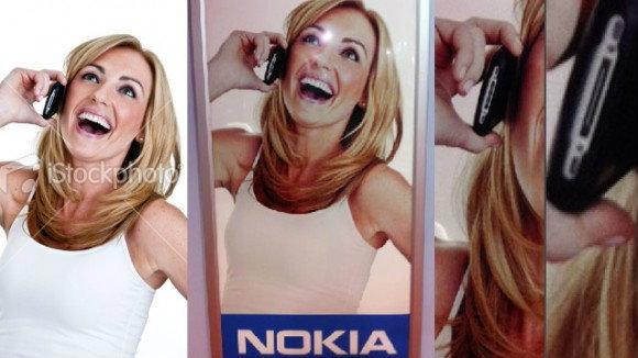 FAIL ได้อีกเมื่อแบนเนอร์ Nokia เอา iPhone มาโปรโมต ส่วนโฆษณา BlackBerry ดันใช้ HTC ซะงั้น!