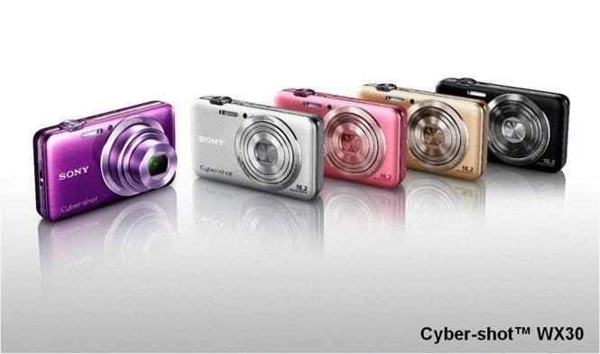 โซนี่ไทยส่งกล้องไซเบอร์ช็อต WX30 ลุยตลาดสร้างสรรค์สไตล์ใหม่