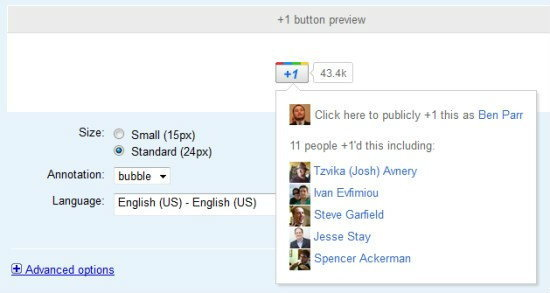 Google จัดหนักปุ่ม +1 ชน Like ของ FB