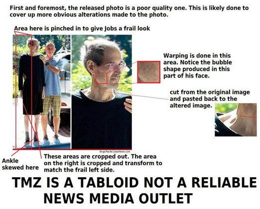 ภาพ Steve Jobs ที่ดูผอมแห้งแรงน้อยนั้นเป็นของปลอม!
