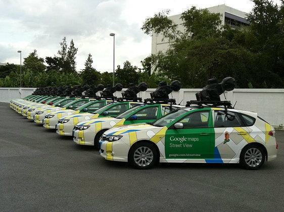 เผยโฉมรถที่ใช้เก็บบันทึกภาพ Google Street View ในประเทศไทย