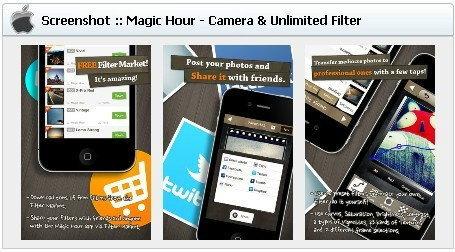 App Protography (แอพฯตกแต่งภาพ) iOS : Magic Hour - Camera & Unlimited Filter