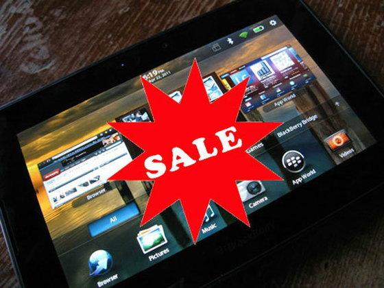 BlackBerry ทุกรุ่น, BlackBerry PlayBook ลดราคา 50 เปอร์เซนต์เฉพาะ 29 กันยายนนี้ที่ Siam Paragon!