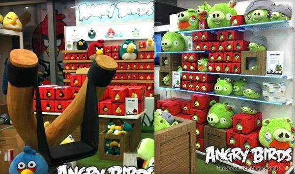 เปิดแล้ว! ร้าน Angry Bird แห่งแรกของโลก