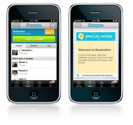 Foursquare สำหรับ iPhone อัพเดทเวอร์ชั่น 4.1.1 แก้บั้คเล็กน้อย