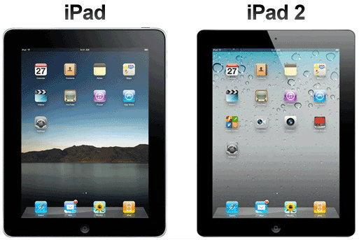 อัพเดทราคา iPad 1 iPad 2 ณ วันที่ 6 ธันวาคม 2554