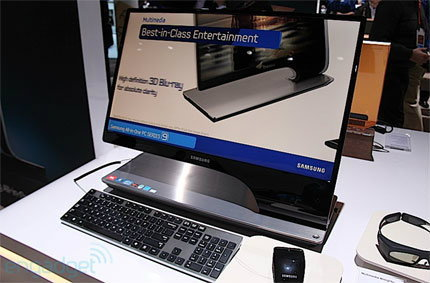 Samsung Series 9 All-in-One สุดหรูล้ำจากงาน CES 2012