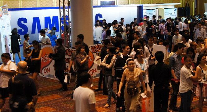 รวบรวมราคามือถืองาน Mobile Expo 2012