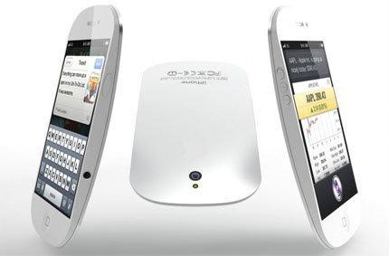 ดีไซด์ใหม่ iPhone 5 โค้งมนทรงหยดน้ำ