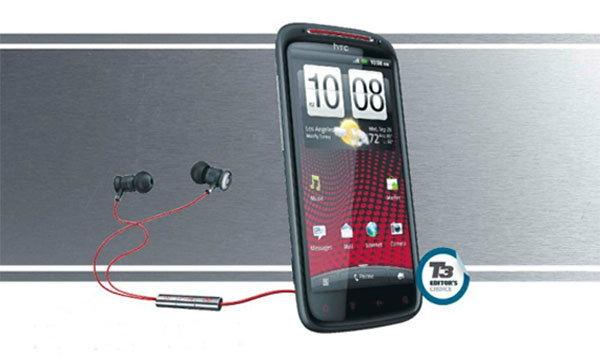 HTC SENSATION XE + BEATS AUDIO คุณภาพเสียงเต็มพลัง