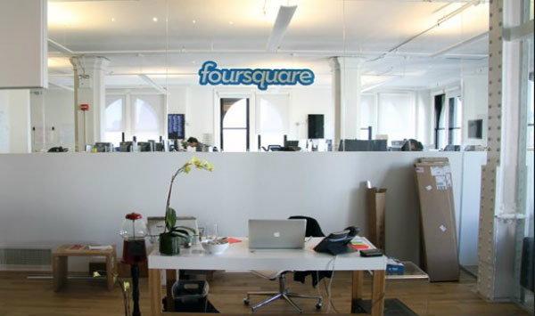 เปิดออฟฟิตสุดโมเดิร์นของ Foursquare HQ ที่นิวยอร์ค