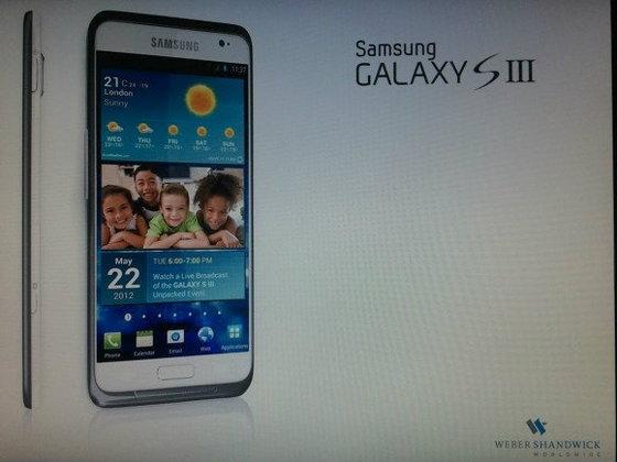 iPhone 5 มีเพื่อนแล้ว...Samsung เริ่มทดสอบ Galaxy S III ในร่างปลอม!