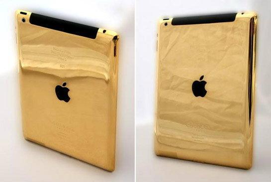 The New iPad ดูธรรมดาไป ต้องนี่เลย The new iPad ผลิตจากทองคำ 24 เค!